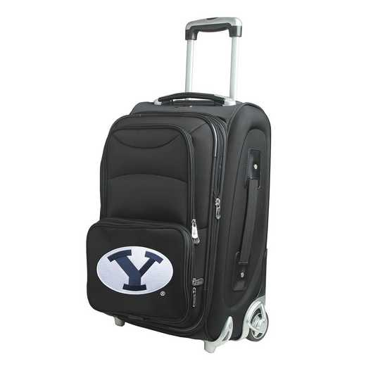 CLBYL203: NCAA Brigham Young Cougars  Carry-On  Rllng Sftsd Nyln
